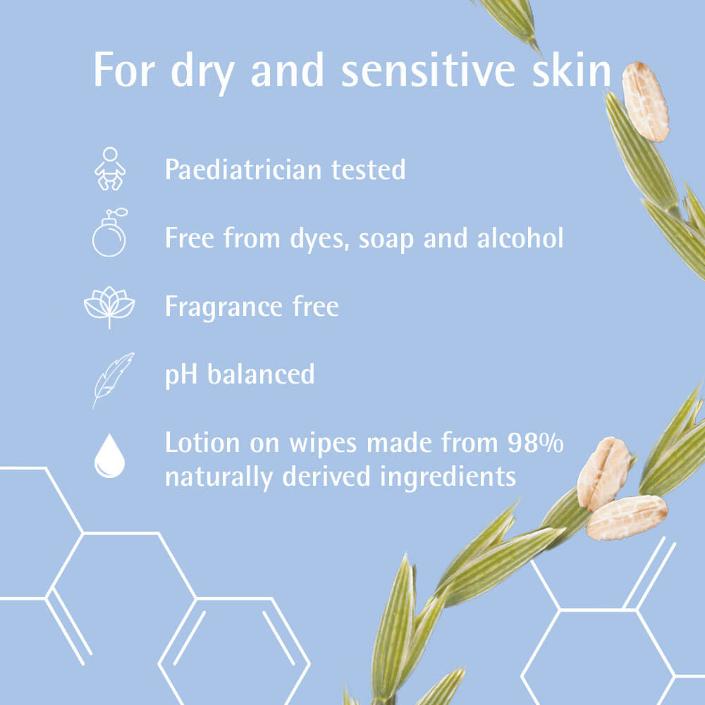 Aveeno Baby Wipes Fact Sheet