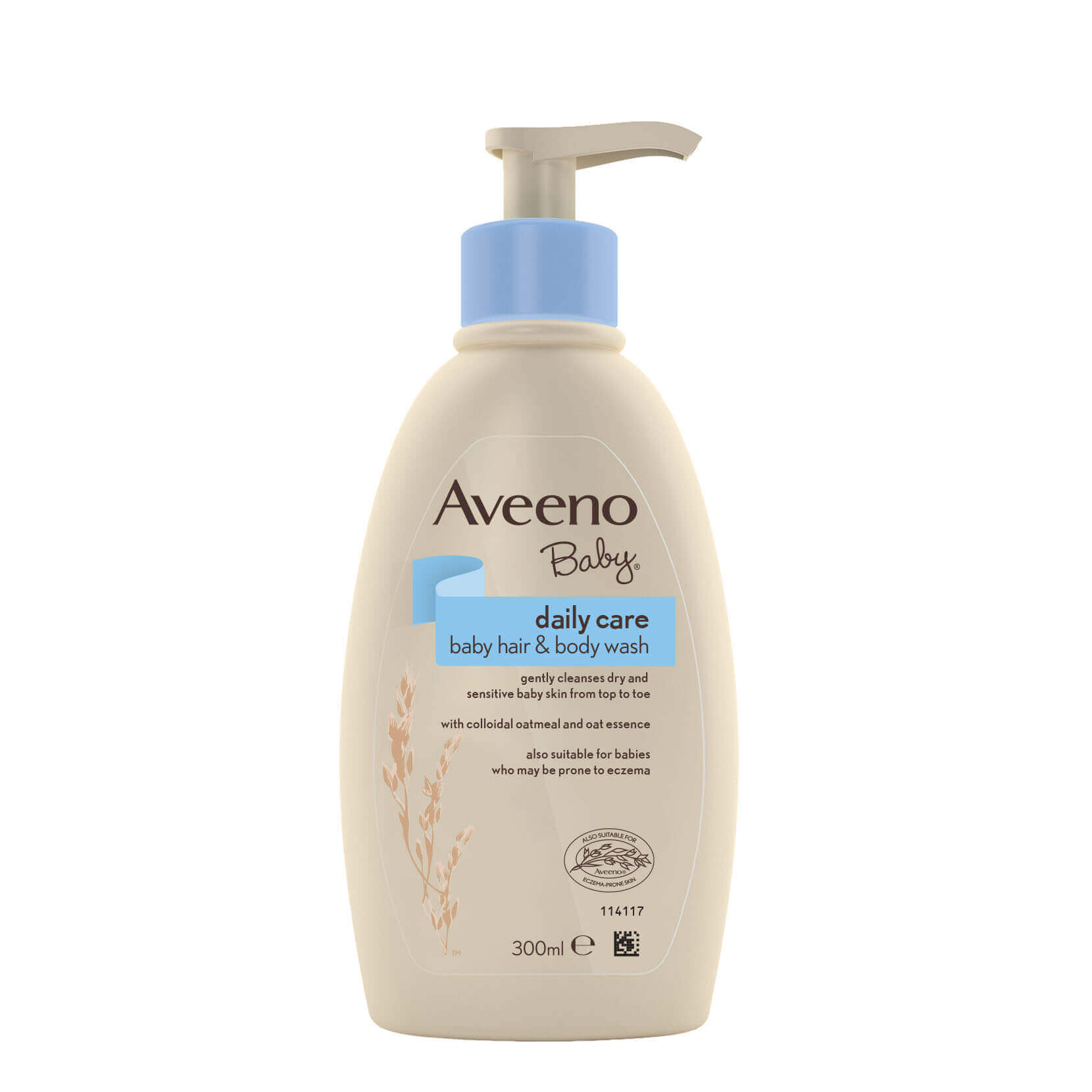 AVEENO Baby Daily Care Hair And Body Wash FRONT
