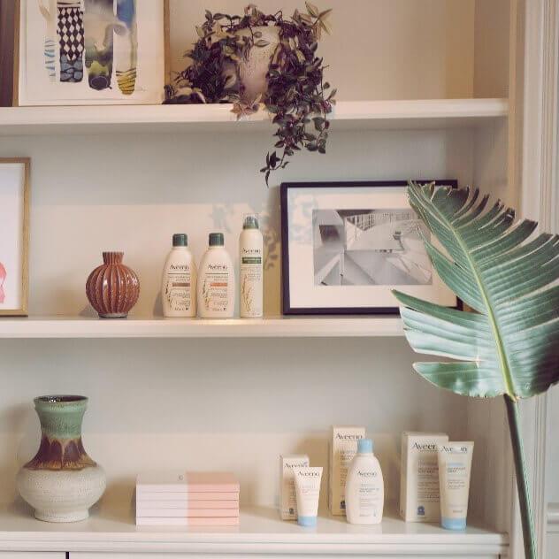 Aveeno shelf